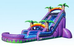 22 ft. Purple Crush water slide