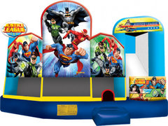 Trademark Justice League super hero 5 in 1 combo jumper