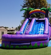 14 ft. purple crush water slide