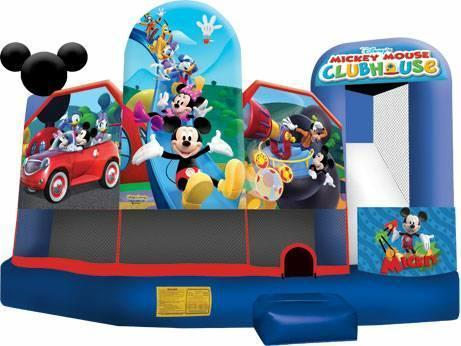 Trademark Mickey and friends 5 in 1 combo jumper