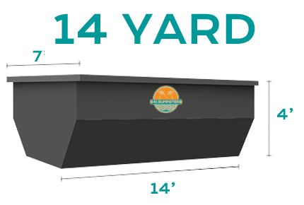 14 yard dumpster