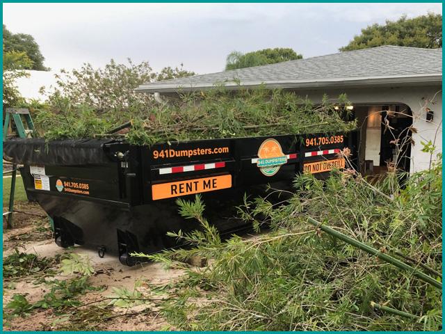 Yard Waste Dumpster Rentals