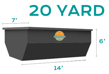 20 Yard Roll Off Dumpster Rental Sarasota and Bradenton