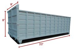 40 Yard Dumpster - Call for Availability