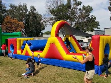 Fresno Obstacle Course Rentals