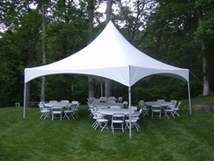 20 x 20 White Canopy Tent