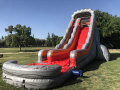 30 Ft Volcano Rush Dry Slide