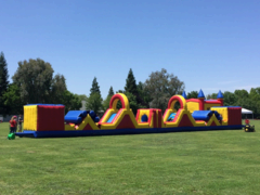 80 Ft Kids Obstacle Course