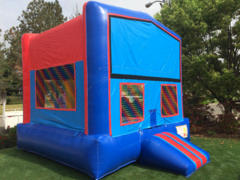 4n1 Blue Bounce House