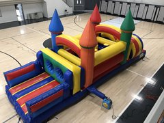 30 Ft Castle Obstacle Course
