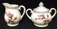 Sugar Bowl and Creamer Jug Matched Sets