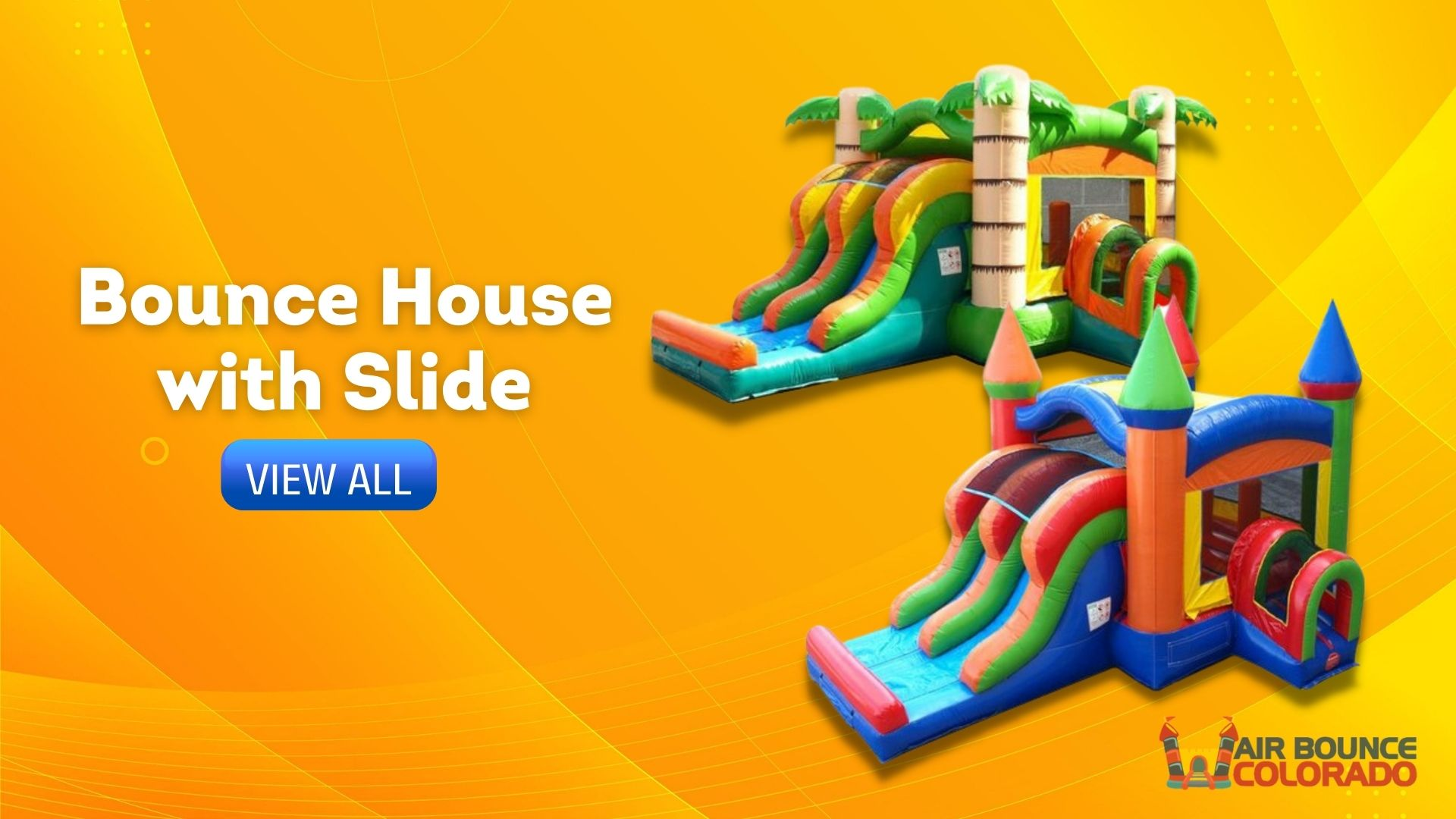 Castle Rock's Best Bounce House with Slide Rentals