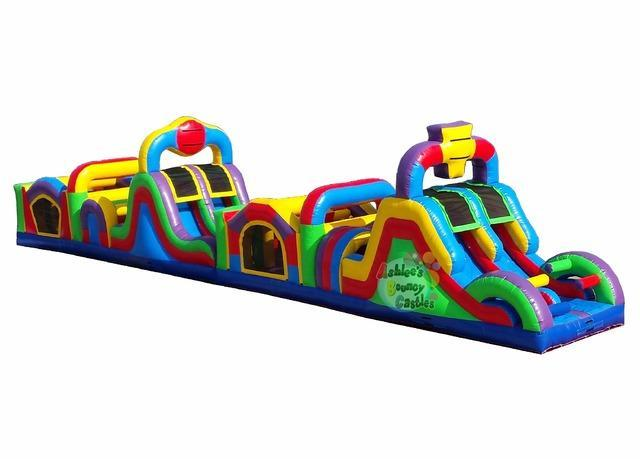 70ft Inflatable Obstacle Course (TSSA)