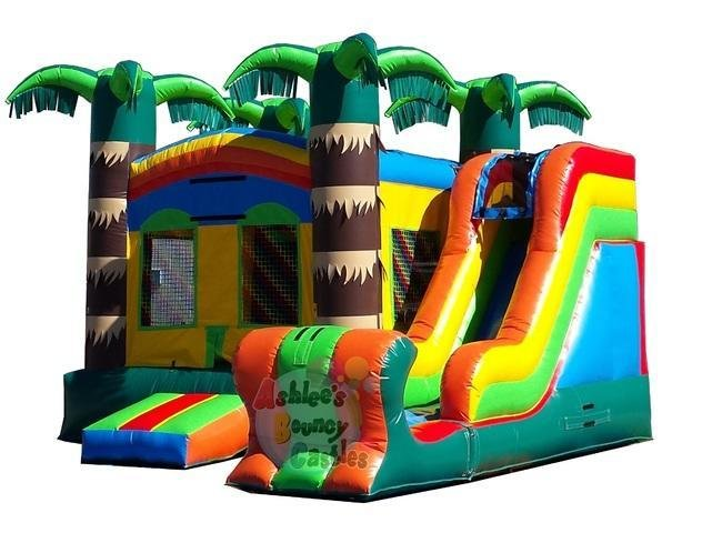 Tropical Bouncy Castle Combo (TSSA)