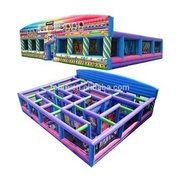 Massive Inflatable Fun Maze