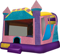 Dazzling Princess Bouncy Castle $299 PROMO From $329