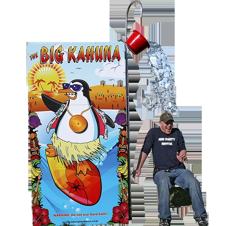 Big Kahuna Splash Dunk Tank Rental