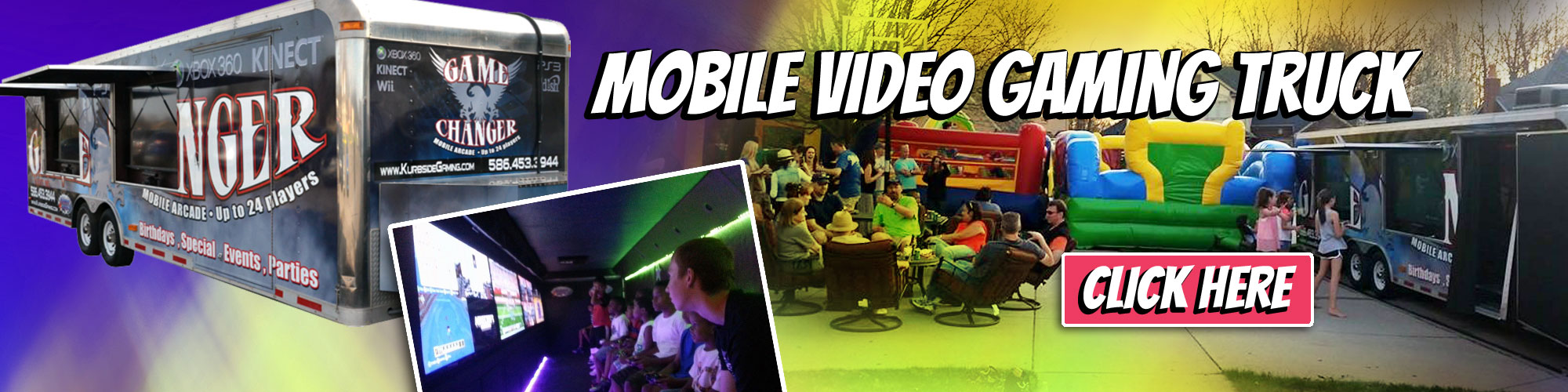 Mobile Gaming Truck Rentals