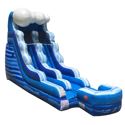 16ft Tidal Wave Water Slide Abr Party Rentals Llc
