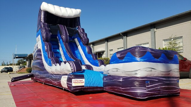 16 Foot Riptide Rush Water Slide