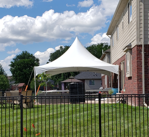 20 x 20 Frame Tent Package#1