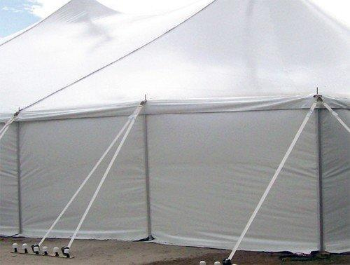 20' Frame Tent Solid Side Wall
