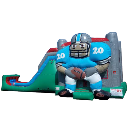 Giant Football Bounce House Combo