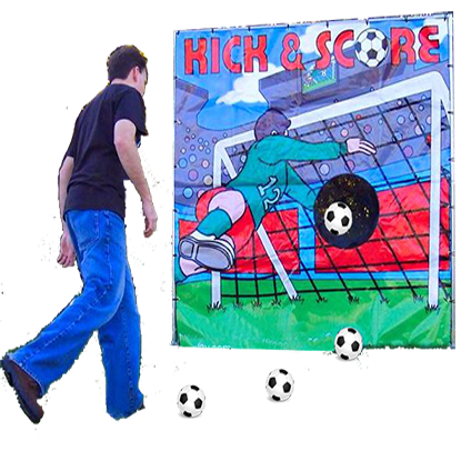 Kick And Score Soccer Carnival Game