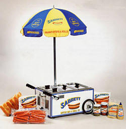 Hot Dog Steamer (Umbrella)