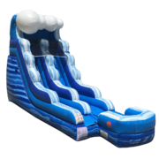 16ft Tidal Wave Water Slide