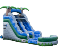 16 Foot Tropical Breeze Water Slide