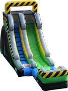 16' Nuclear Rush Water Slide