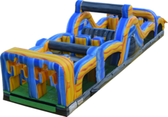 40' Radical Run Inflatable Obstacle Challenge