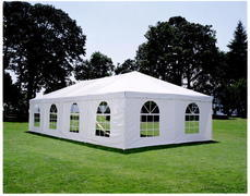 20' Frame Tent Window Side Wall