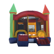 Wacky Castle 5 1 Combo Bounce House