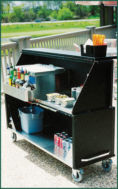 6 Ft Portable Bar