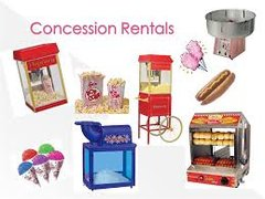Concession Rentals and Supplies