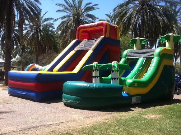 Rent a water slide in Scottsdale Arizona