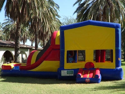 Superbowl Party Bounce Slide Rental