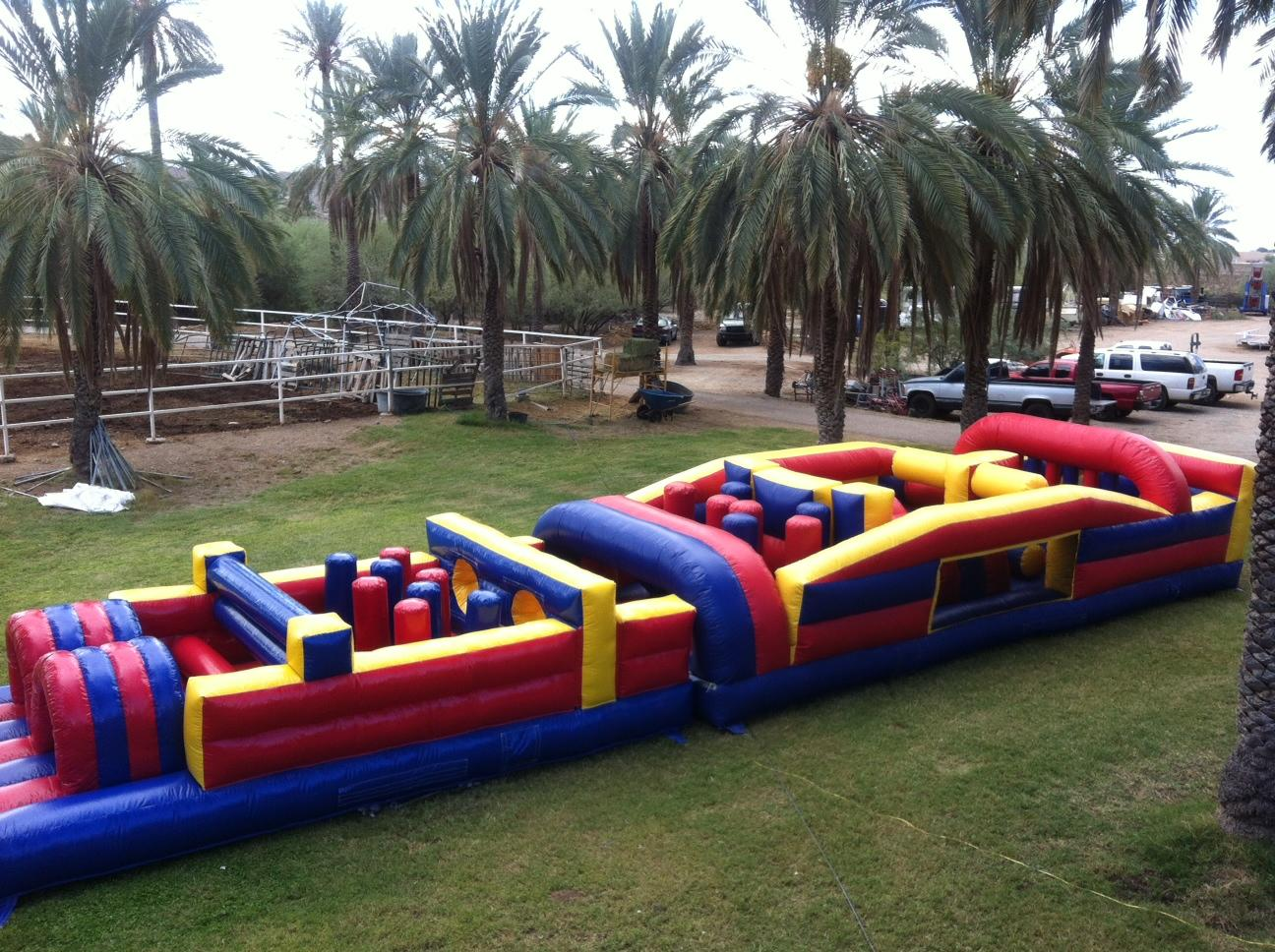 57' Extreme Obstacle Course