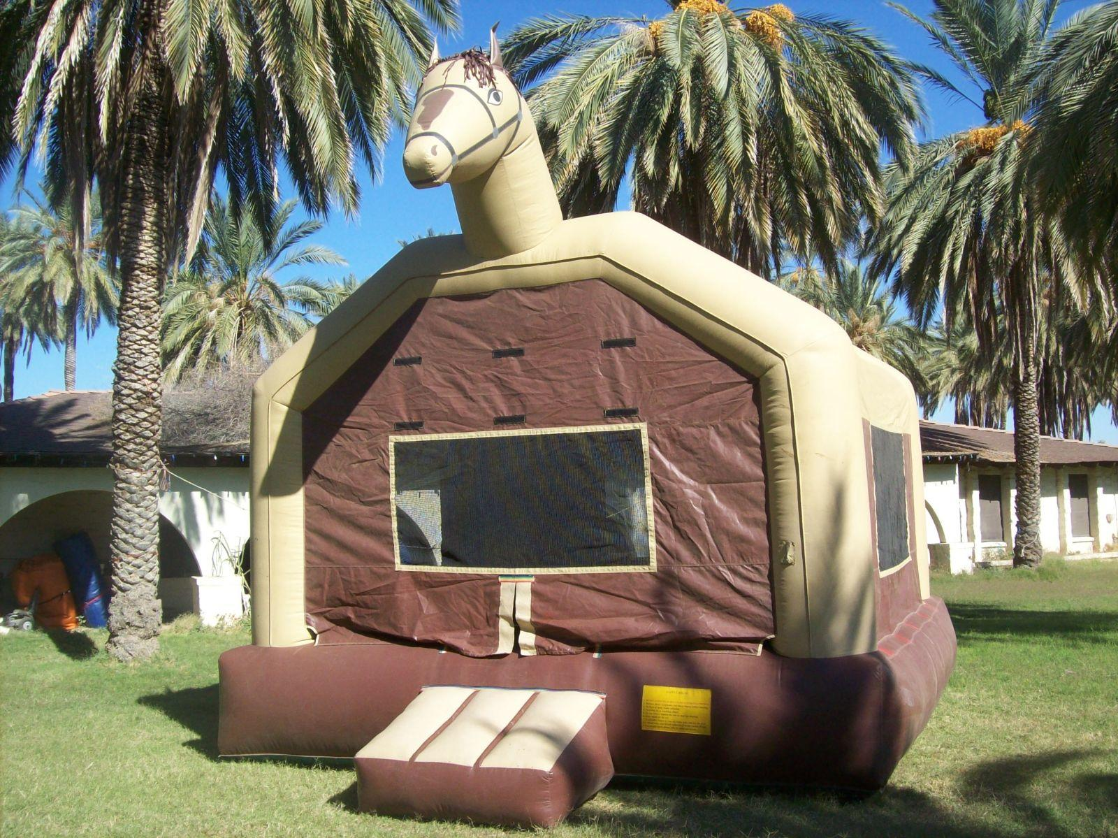 Giant Pony Bounce needs 20'x 20' area