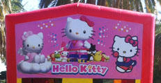 Add the Hello Kitty Banner for $20