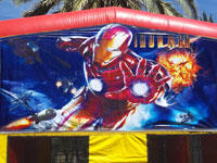Iron Man Bounce House Rental