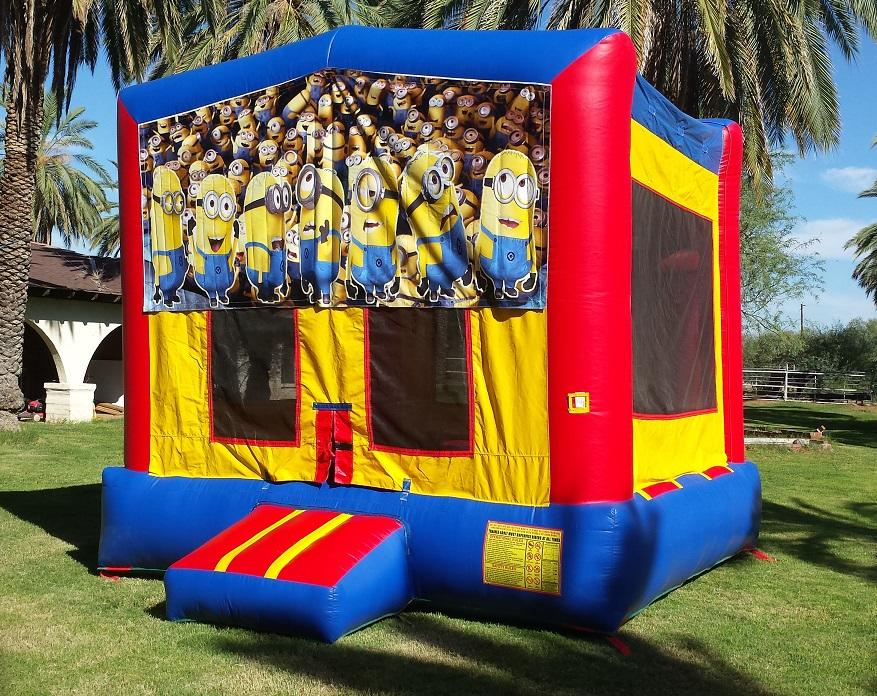 Minions Themed Bounce House Rental