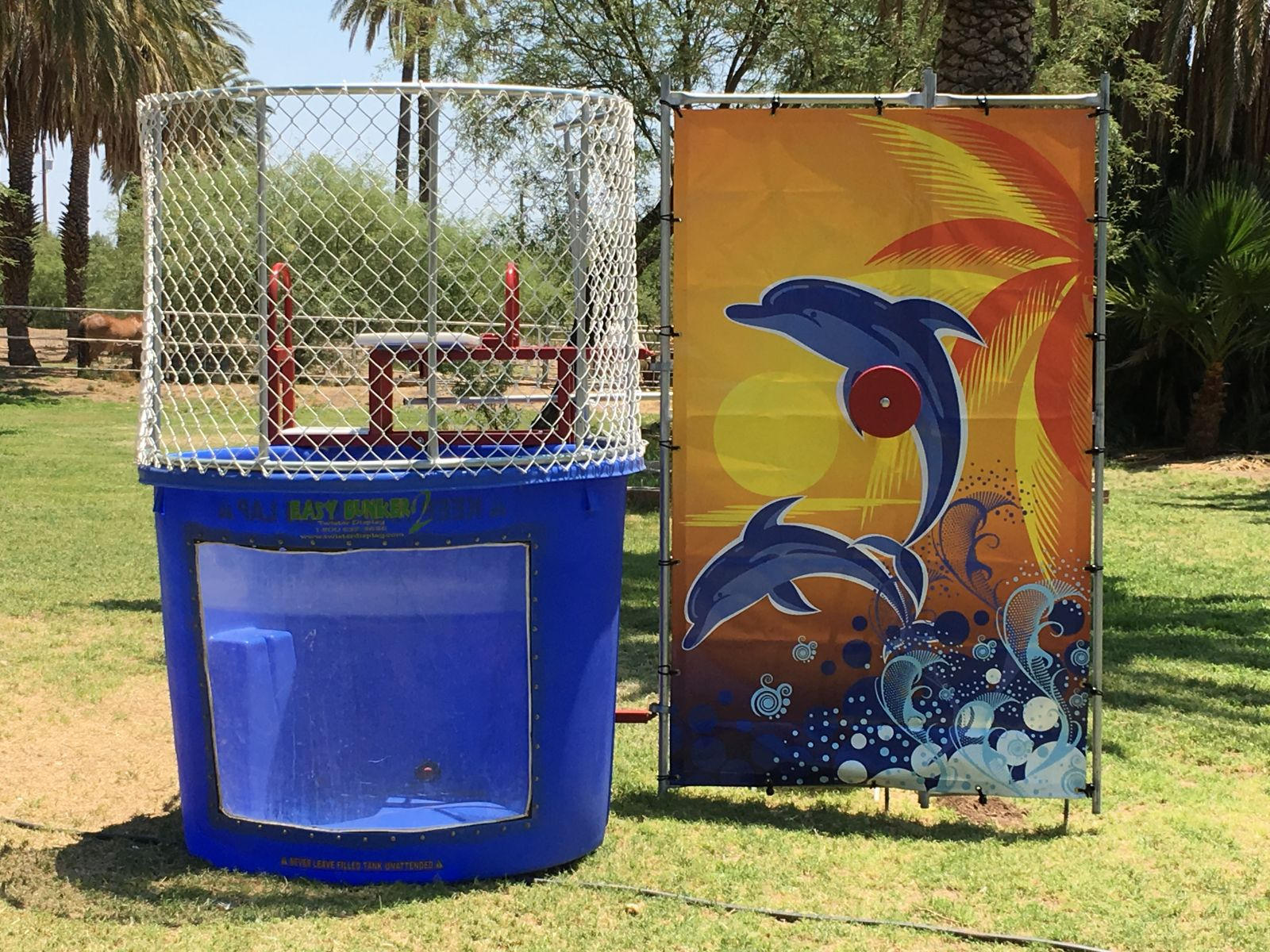 Rent a Dunk Tank with a Window