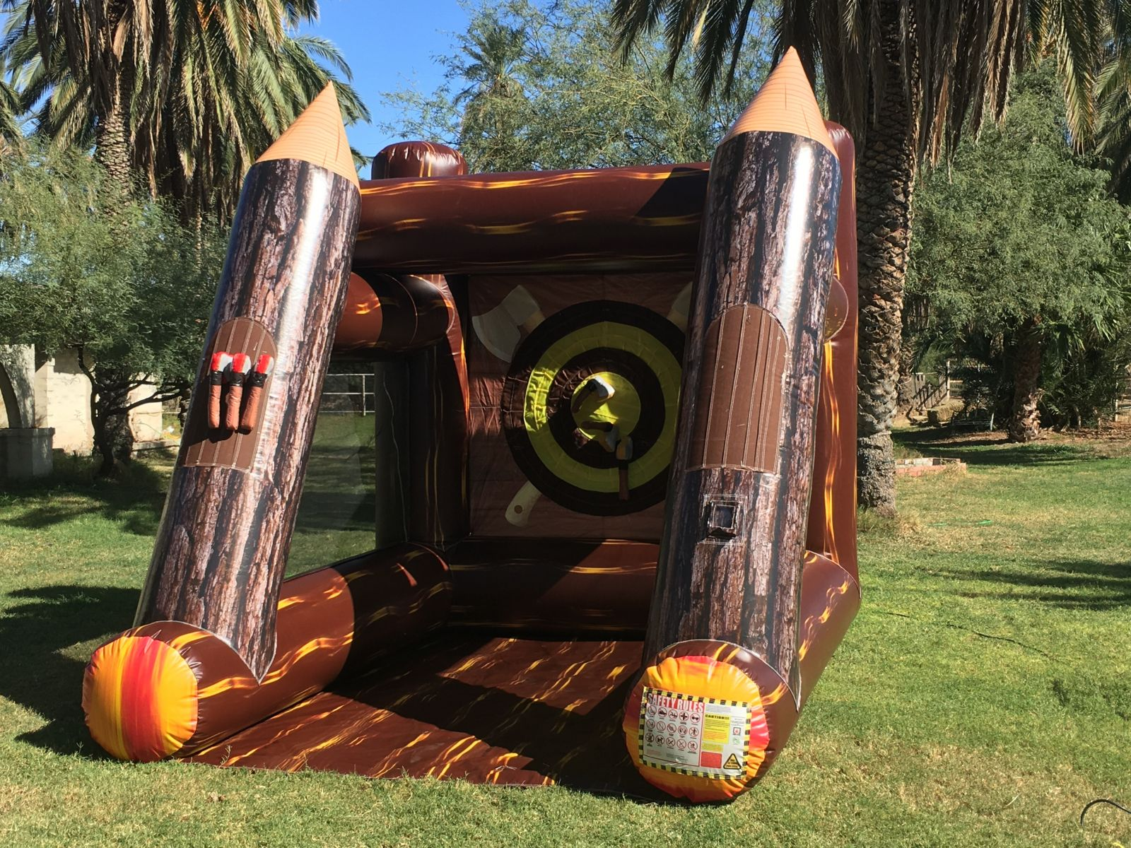 Portable Axe Throwing Game Rental in Arizona