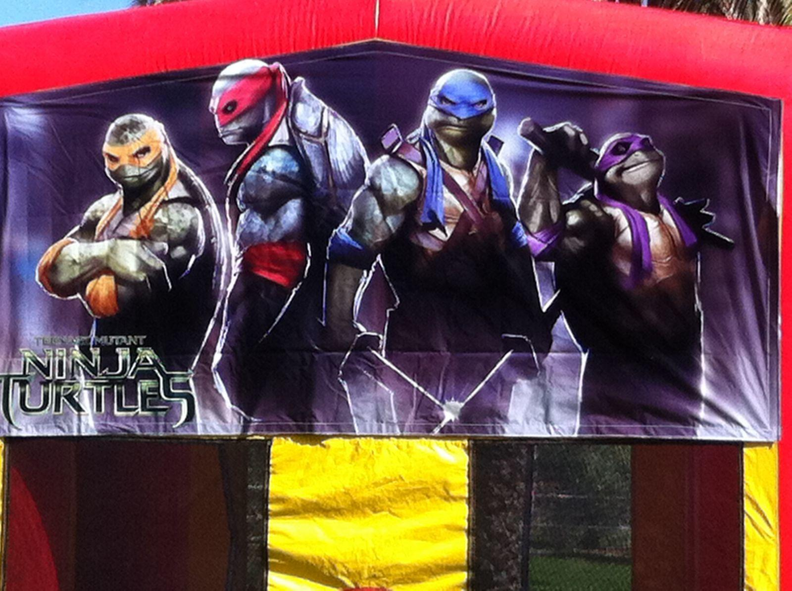 Teenage Mutant Ninja Turtle Bounce House Rental AZ