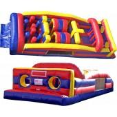 7 Element 40' Long Obstacle Course for rent