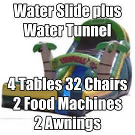 Water Slide Party Package - Best