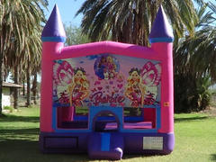 Barbie Pink Bounce House